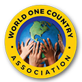 World One Country Logo